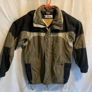 Columbia Mens Core Interchange Jacket Beige Black